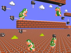 3 D Super Mario Bros Hammer Bros A 3 D Modeled Picture Flickr