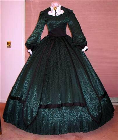 Scarlett o hara green christmas dinner dress flickr photo sharing