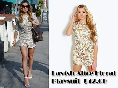 Lavish Alice Floral Playsuit: Summer must have items