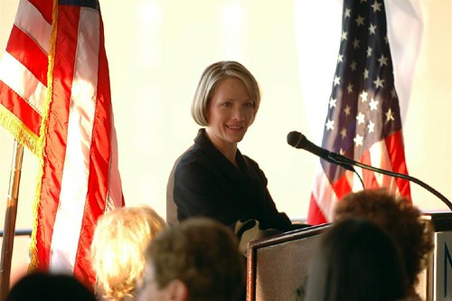 White House press secretary Dana Perino