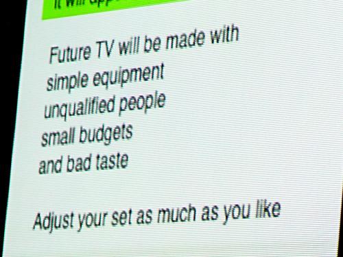 Venezia 042 Tez - Brian Eno predicts YouTube