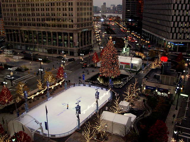 Christmas Tree & Ice Rink