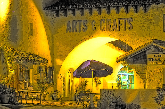 Spanish village san diego california flickr photo for Michaels arts and crafts san diego