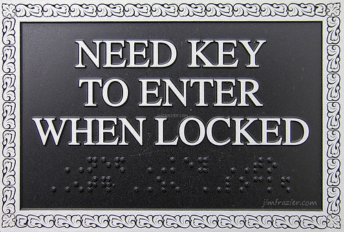 Need Key to Enter When Locked