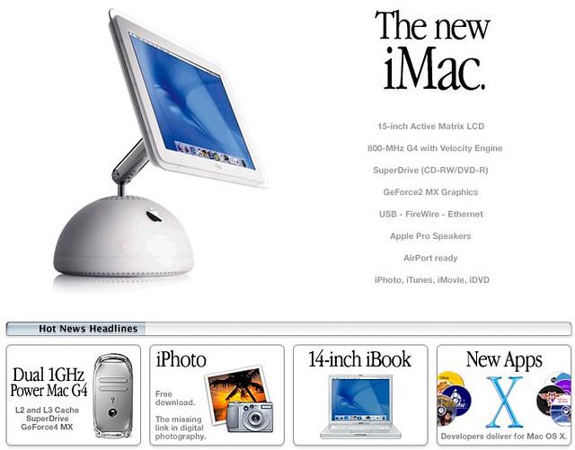 iMac tournesol