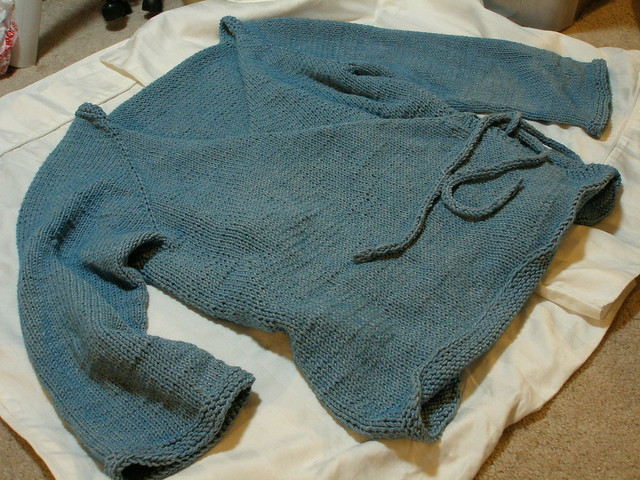 Wrap Around Ballet Cardigan Knitting Pattern Ladies Sweater Patterns