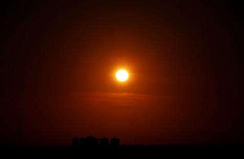 sunset sky sun sol skyline backlight buildings contraluz atardecer edificios view dusk venezuela silhouettes cielo vista puesta siluetas maracaibo