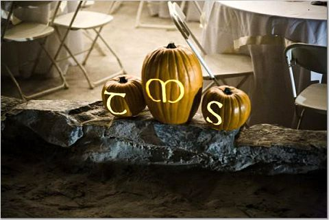 Monogram jackolanterns