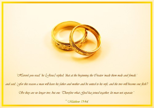 What God has joined together...