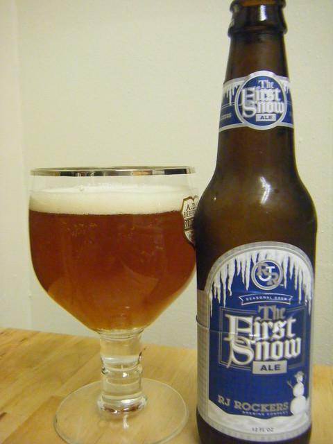 RJ Rockers First Snow Ale