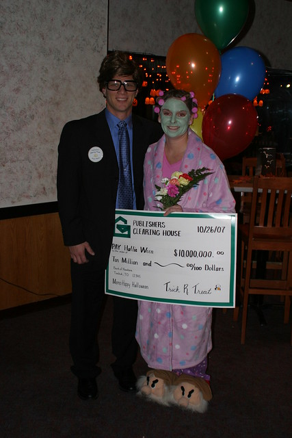 Publishers Clearing House Recent Winners http://www.flickr.com/photos/ricdamm/1775230386/