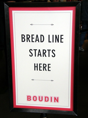 Bread Line Starts Here - Image from Nemo's great uncle on flickr - Birmingham