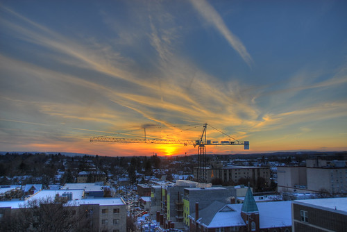 sunset hdr