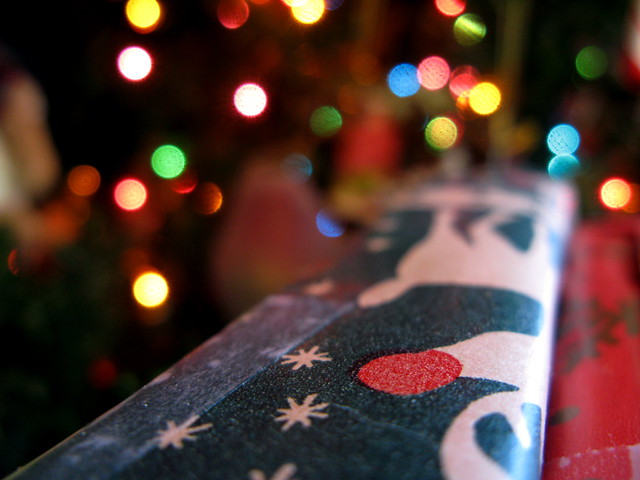 Christmas from the present's perspective - 無料写真検索fotoq