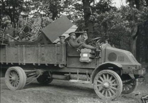 Trucks Of Ww1 Armchair General And Historynet The