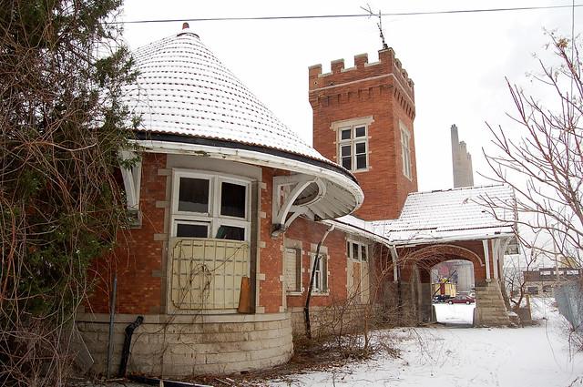 Abandoned Station Lansing Michigan Flickr Photo