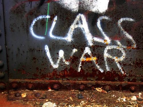 Class War graffiti