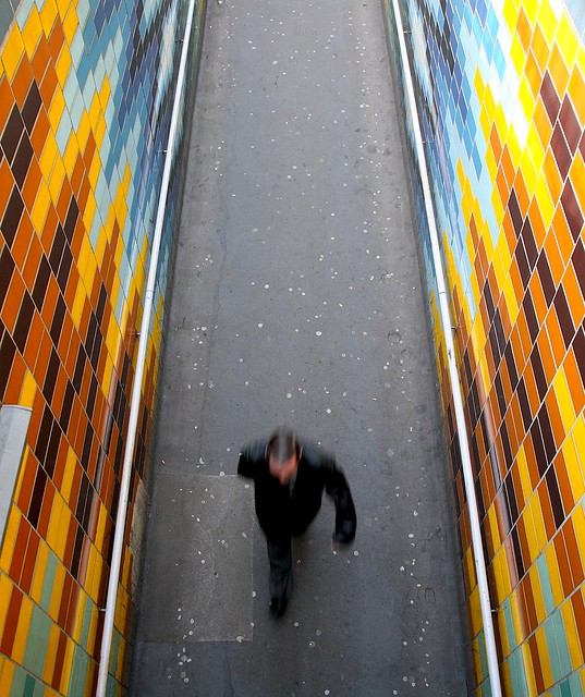 Colour Tunnel and Gum - Elephant and Castle, London