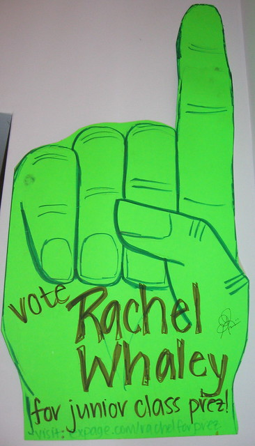 Elementary School Student Council Posters http://www.flickr.com/photos/rachelwhaley/2304460417/