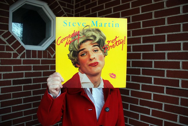 "Sleeveface 7_Steve Martin ""Comedy Is Not Pretty"""
