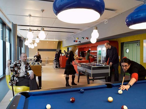 google is one of the worlds largest companies but they havent lost their fun loving spirit their offices could best be described as inspiring and fun best office in the world