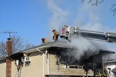 House fire, Frankel St. Freeport