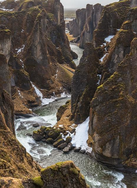 'River Canyon' - Fjaðrárgljúfur, Iceland