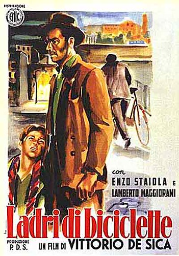 a critical analysis of the movie the bicycle thief directed by vittorio de sica Zavattini's screenplay for the bicycle thief was film in vittorio de sica's socially criticalbut if the film is allowed.