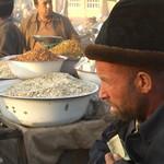 Uighur Man at Night Market - Kashgar, China