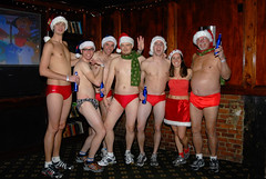 010 Santa Speedo Run 2007