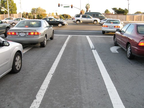 California bike lane