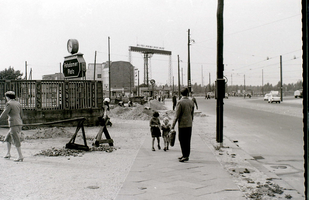 Potsdamer Platz, Berlin, c. 31 July 1960