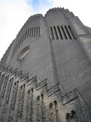 Tower of Grundtvigs Kirke (Church of Grundtvig)