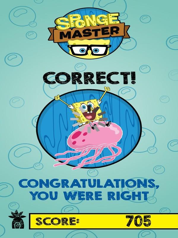 spongebob spongemaster correct answer