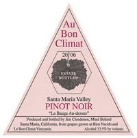 Add a photo for Au Bon Climat Pinot Noir Santa Barbara County La Bauge au Dessus 2006