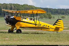 aviation, biplane, airplane, propeller driven aircraft, wing, vehicle, light aircraft, ultralight aviation,