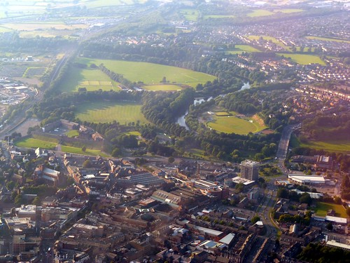 Carlisle from the air