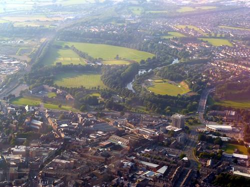 Carlisle from the air