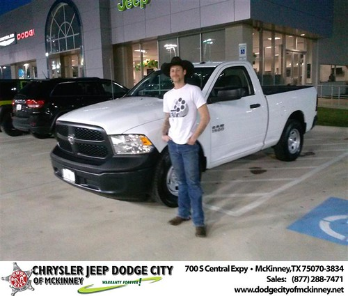 Happy Anniversary to Randall C Mcguire on your 2013 #Dodge #1500 from David Walls  and everyone at Dodge City of McKinney! #Anniversary by Dodge City McKinney Texas