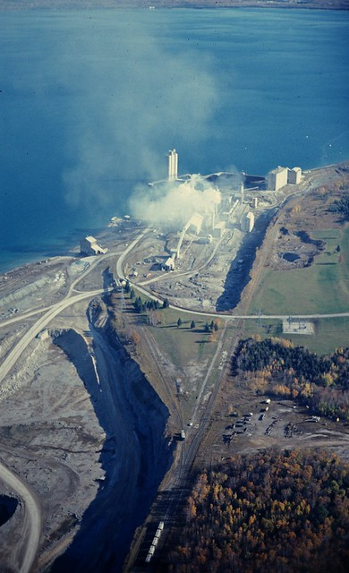 Portland Cement Plants Usa Map : Petoskey portland cement plant penn dixie