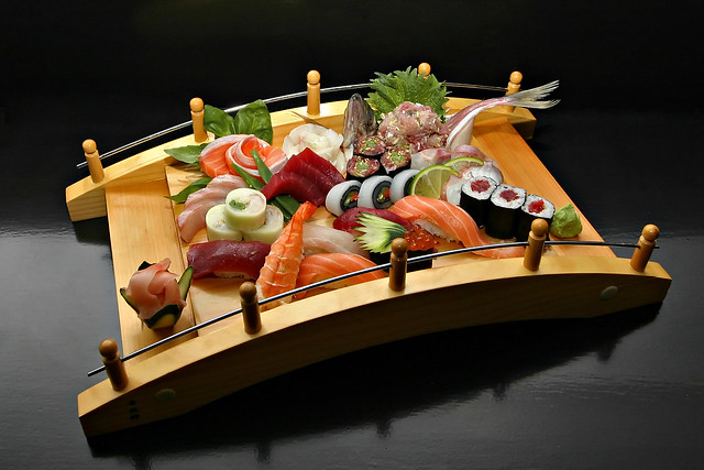 Sushi Sashimi bridge