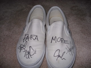 my autographed shoes