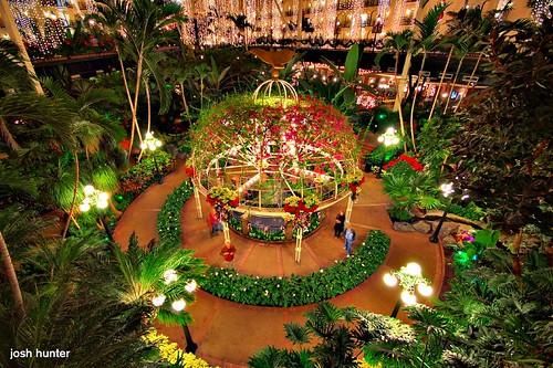 christmas hotel delta indoor jungle cascades magnolia opryland