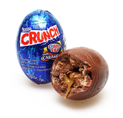 Nestle Crunch Creme Egg
