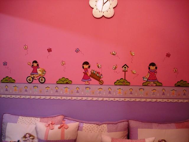 decoração parede ,border APLIQUES MDF COLADOS NA PAREDE