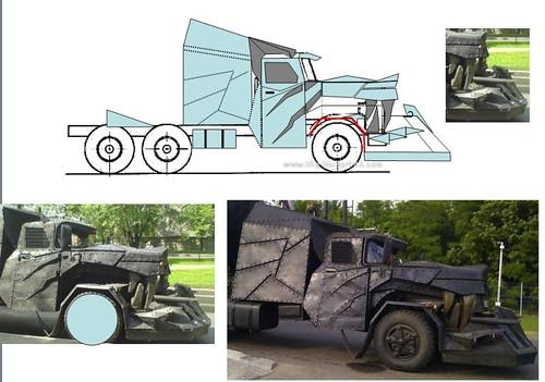[Déterrage] Wolf Truck sur base de Diamond Reo AMT au 1/24 32795323572_ac670f7f85