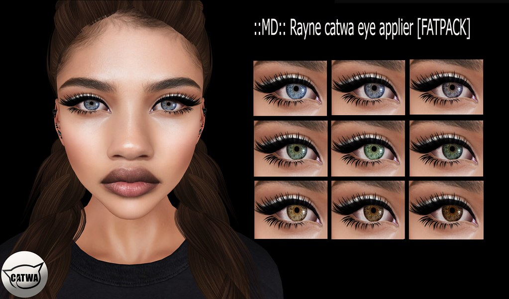 ::MD:: Rayne Catwa Eye Appliers - SecondLifeHub.com