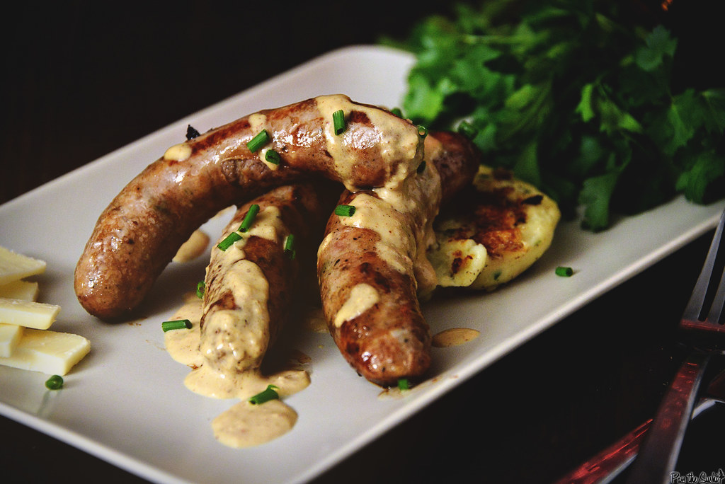 Irish Sausage Plate | GirlCarnivore.com
