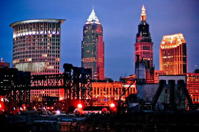 Cleveland, Ohio - photo by Joshua Rothhaas on Flickr