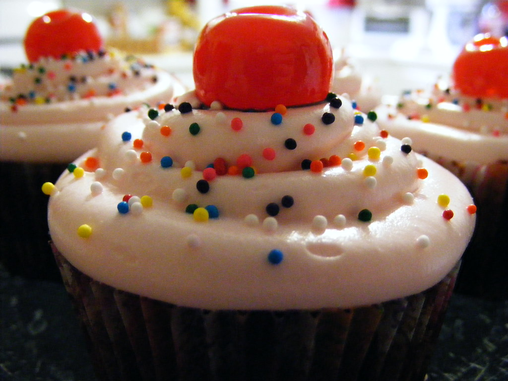 Cherry Chocolate Dr Pepper Cupcakes I Saw This Recipe And